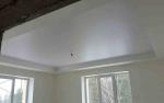 Натяжной потолок с.Кандинка